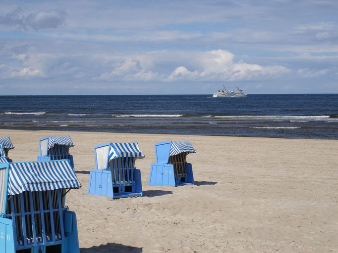Ostseestrand auf Usedom