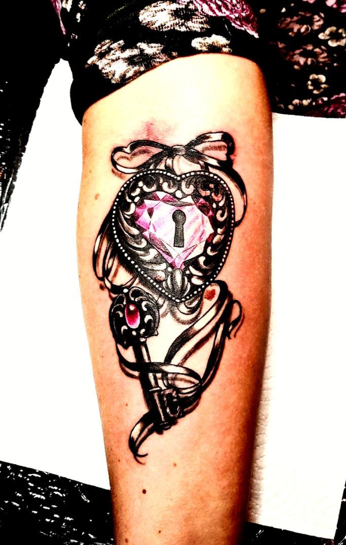 Diamantherz Tattoo