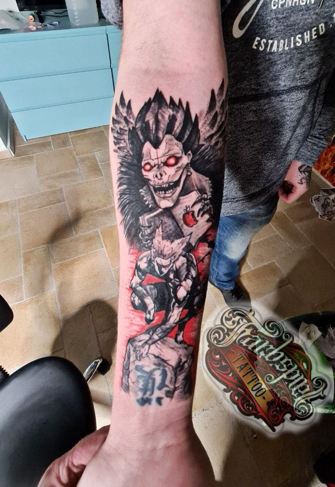 Deathnote Tattoo