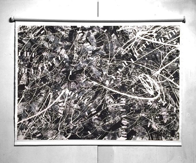 balitora na smashmake 1400 × 1100mm / acrylic on canvas / 2018
