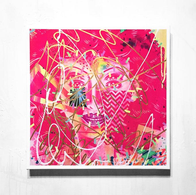 cory de smashmake 472x472x45mm / acrylic on canvas / 2018