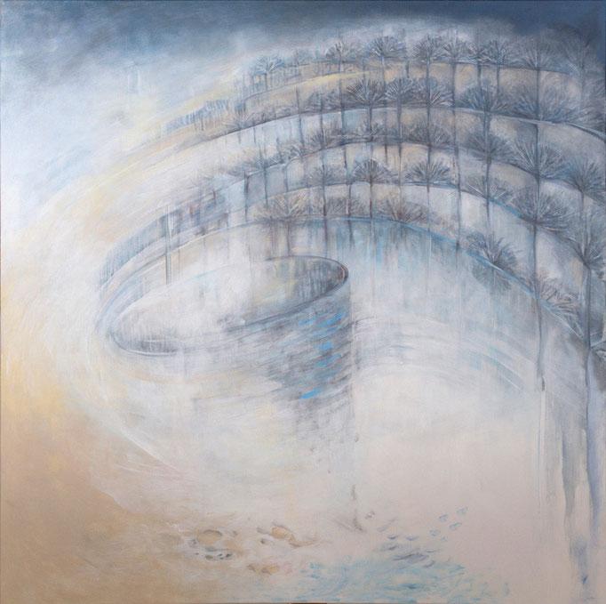 Do větru * akryl na plátně * 100/100