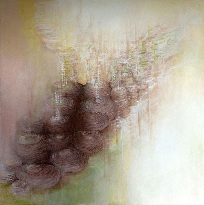 Narození * akryl na plátně * 100/100