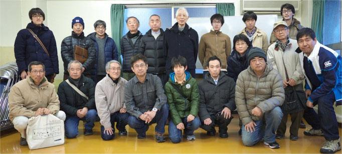 4月号表紙「第142回流星物理セミナー集合写真」(2016.2.7) by 重野好彦