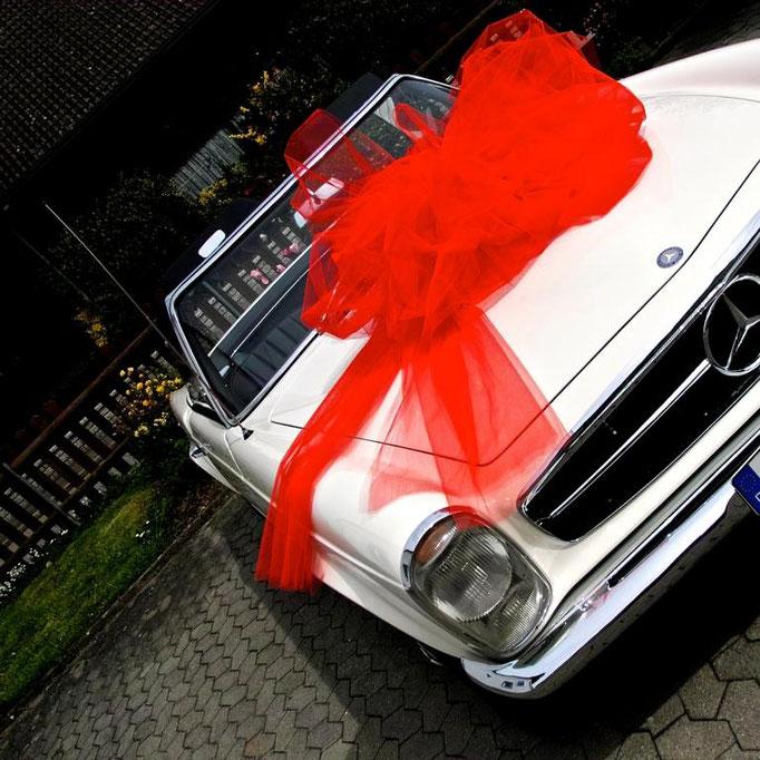 Mercedes Benz SL Pagode, Restaurierung, Lackierung, W113