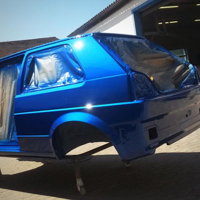 VW Golf 2, Lackierung