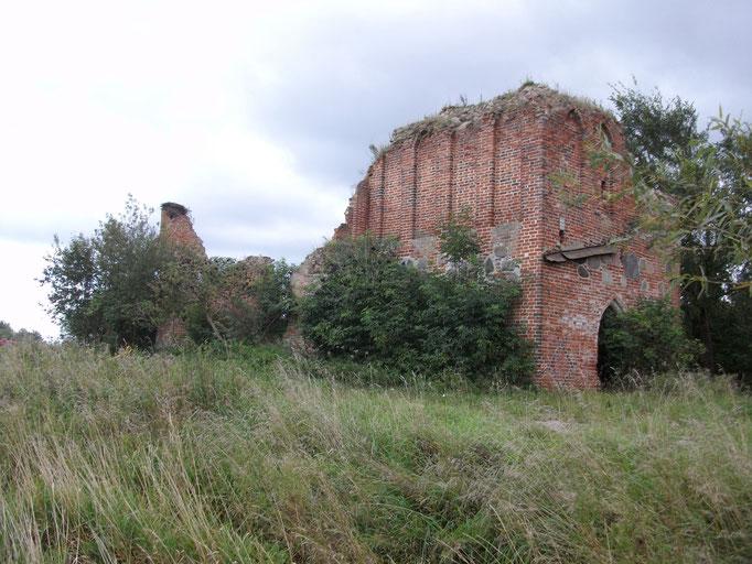 Lichtenhagen -  Kirchenruine