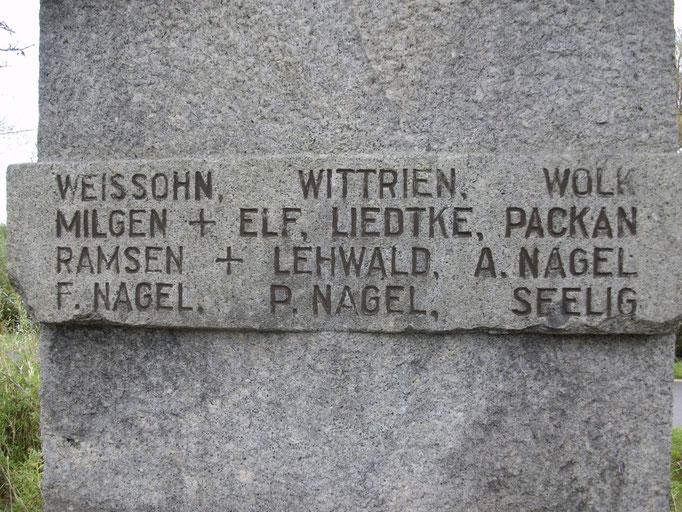 Kriegerdenkmal Mahnsfeld