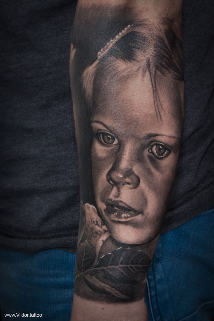 Tattoo by Viktor Meyer