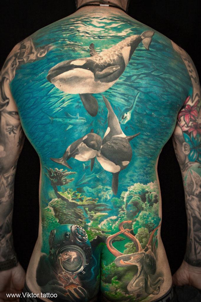 Tattoo von Viktor