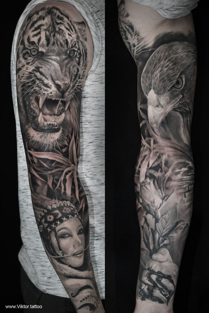 Tattoo by Vitali Ichtendriz