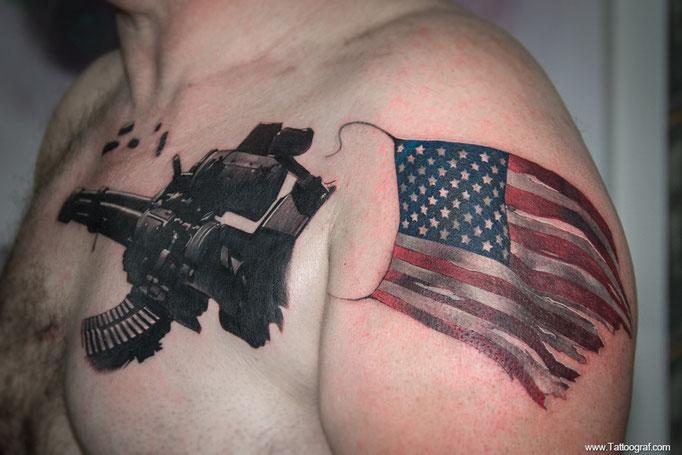 Tattoo by Anton Oleksenko