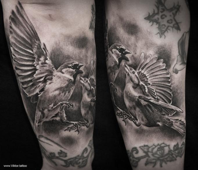 Tattoo by Vitali Ichtendriz
