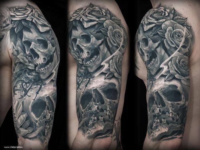 Tattoo by Viktor Meyer
