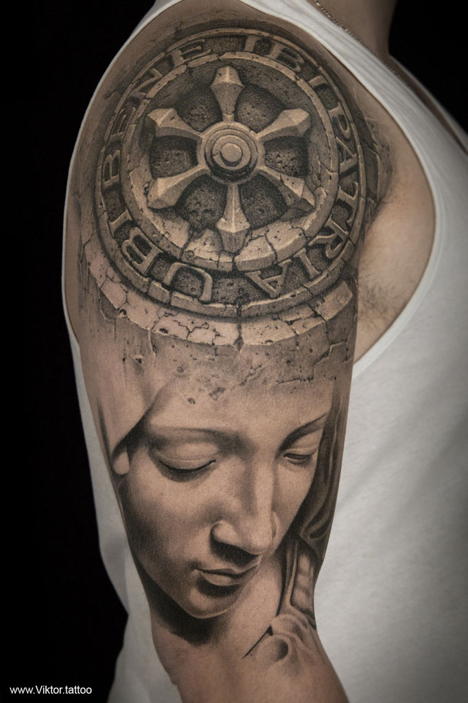 Tattoo by Viktor Meyer & Pavel Angel