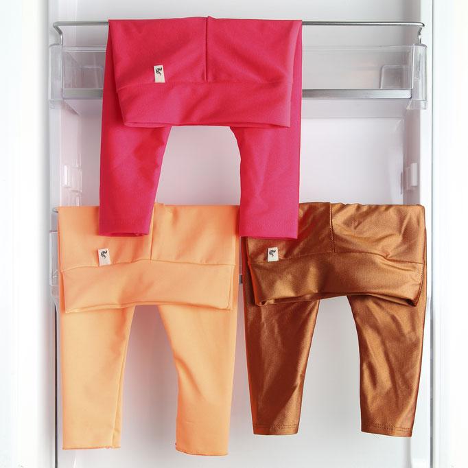Nothing better / Legging Neon pink / salmon / bronze  #0117LE04 /21,00