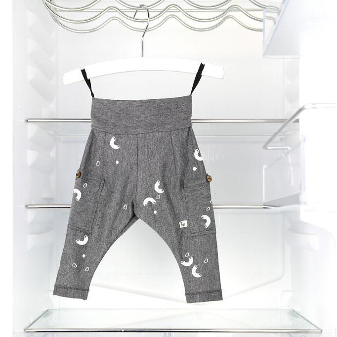 Macaroni with cheese pants / Grey pants  #0117TR01 / 23,00