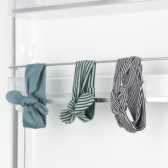 Yummy /Headband mint/mint striped / navy blue striped #0117HAI06 / 12,00-14,00