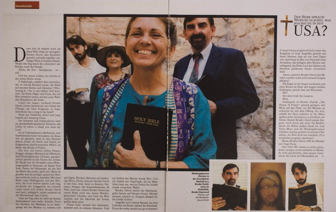 Messianic Evangalists for Spiegel Reporter, Germany