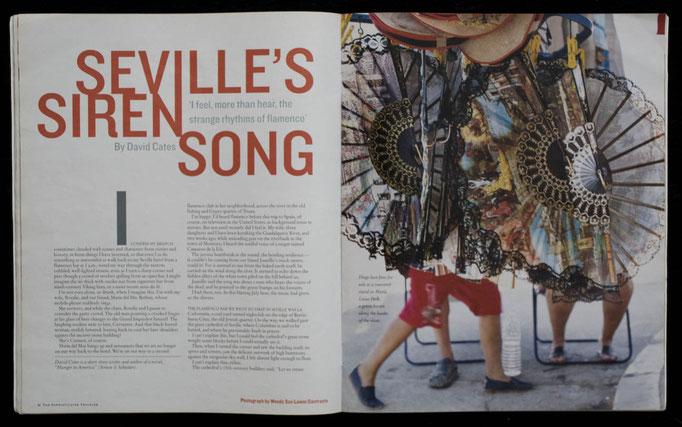 Seville's Siren Song, Flamenco, for The New York Times Magazine