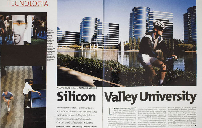 Silicon Valley for L'Espresso, Italy