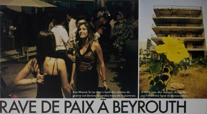Beirut Night Life for Elle, France