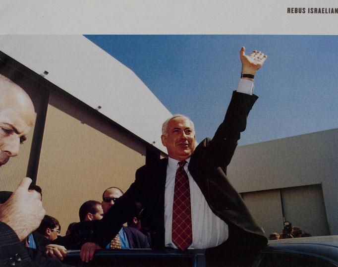 Israeli Prime Minister Binyamin Netanyahu for The New York Times Magazine; Internazionale