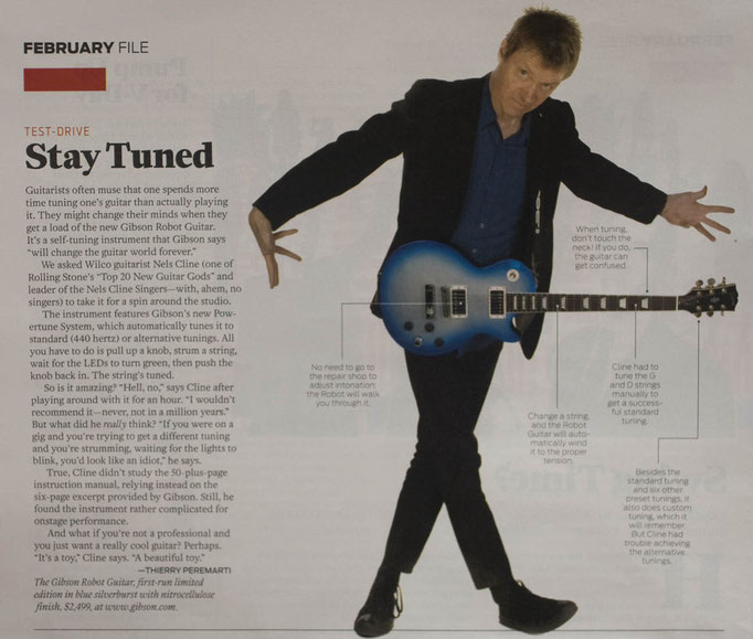 Nels Cline of Wilco for The Los Angeles Times Magazine