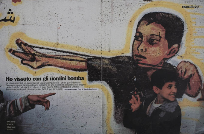 Palestinian Martyr Culture for La Republica delle Donne, Italy