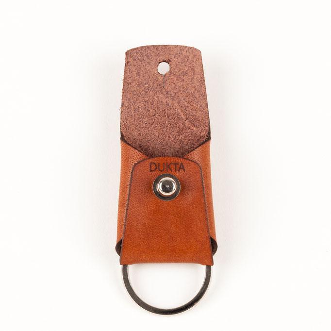 Schlüsselanhänger Leder cognac Schlüsselbag