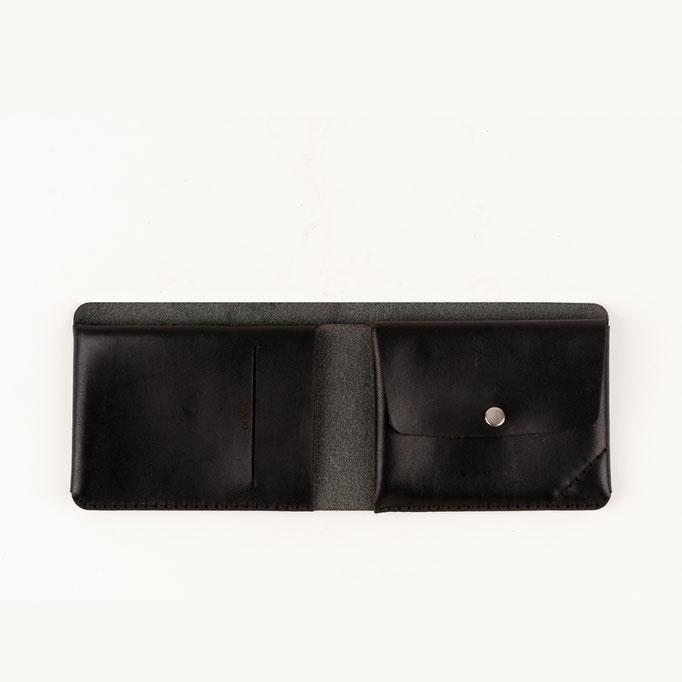 Leder Geldbeutel schwarz 180€