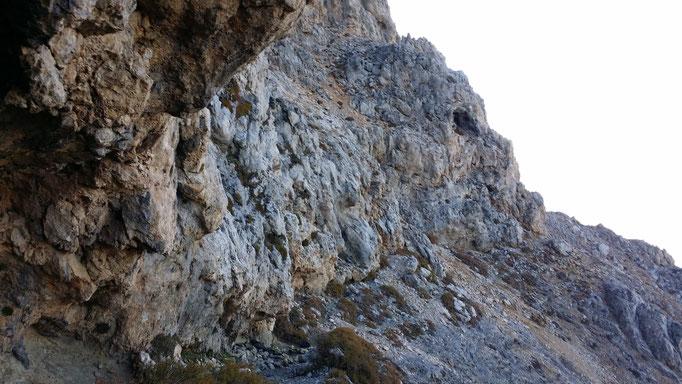 """28.10.2017 - Foto © Italo Macis: Der """"Zaranokefa'la"""", zu Deutsch """"Runzeliger Kopf"""", von dem der Berg seinen Namen hat."""