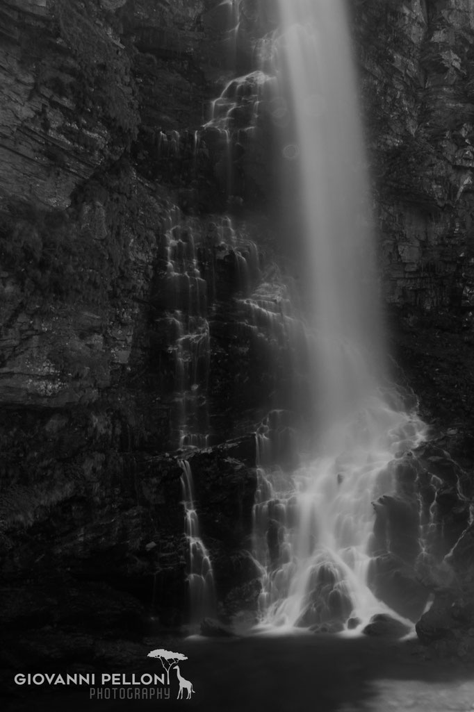 Waterfall «La Froda» near Sonogno, Ticino, Switzerland 2017