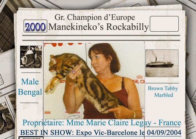 Gr.Ch.Europe Manekineko Rockabilly