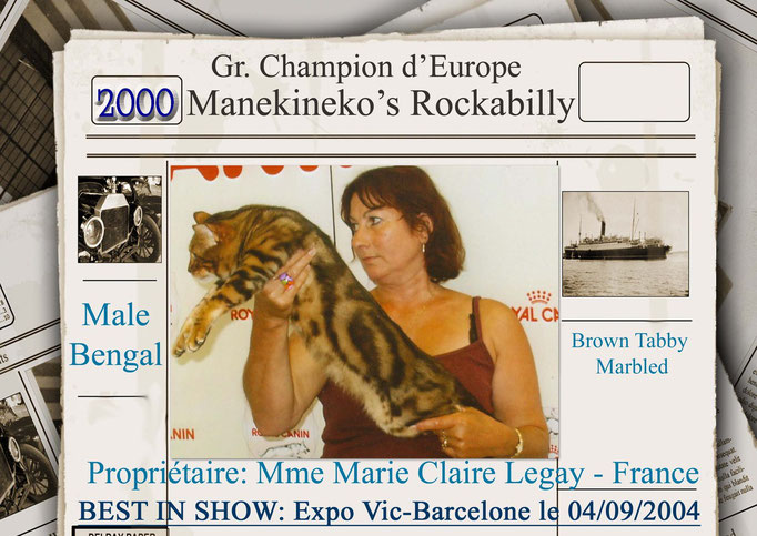 Gr.Ch.Europe Manekineko Rockabilly