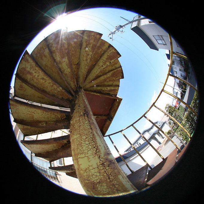 青の日々5/螺旋階段