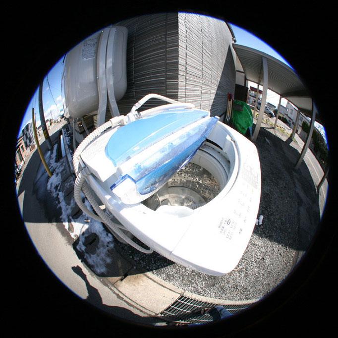 青の日々12/街角洗濯機