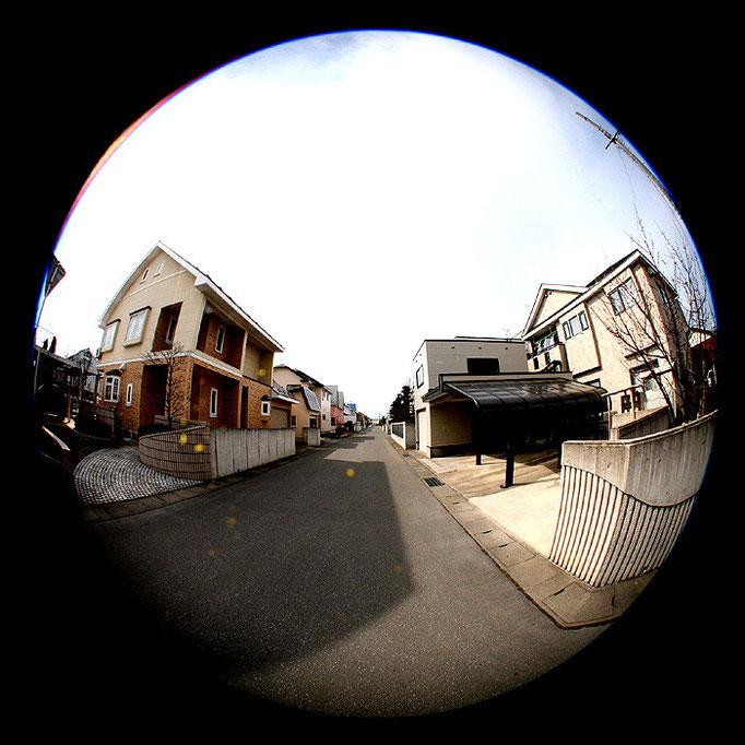 午後の住宅街