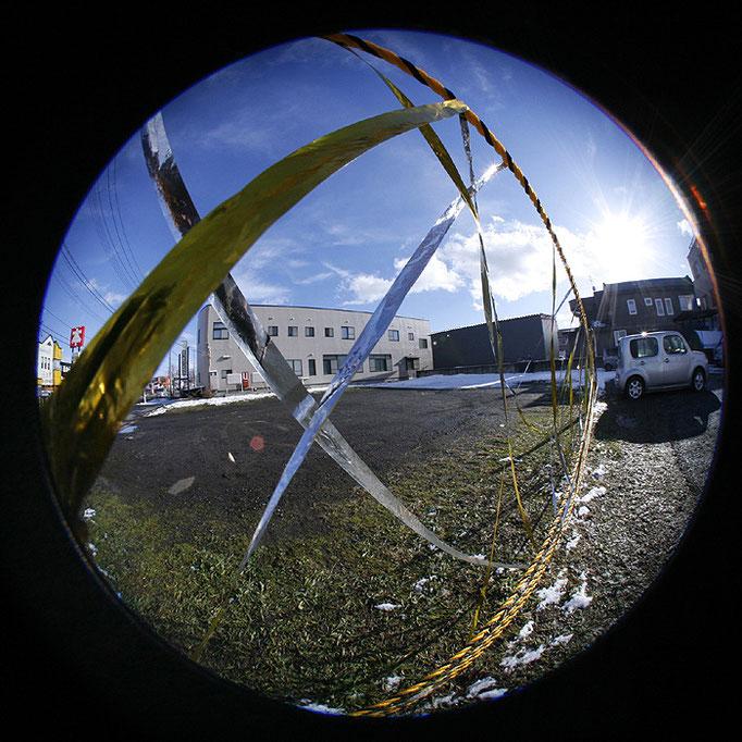 fragments14/境界を示す金銀テープ
