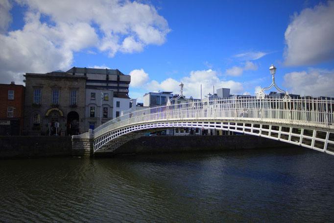 Brücke über den Liffey