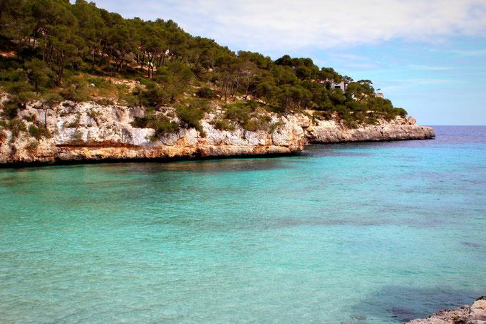 Blick über die Cala Santanyí
