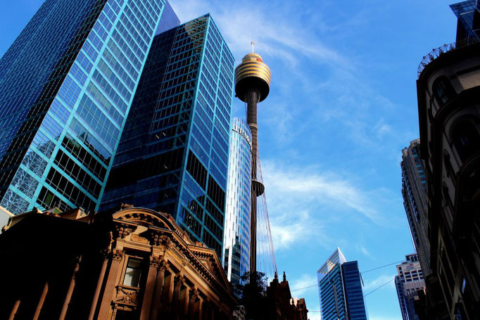Downtown Sydney mit Sydney Tower