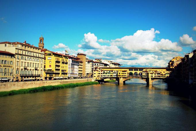 Blick über den Arno