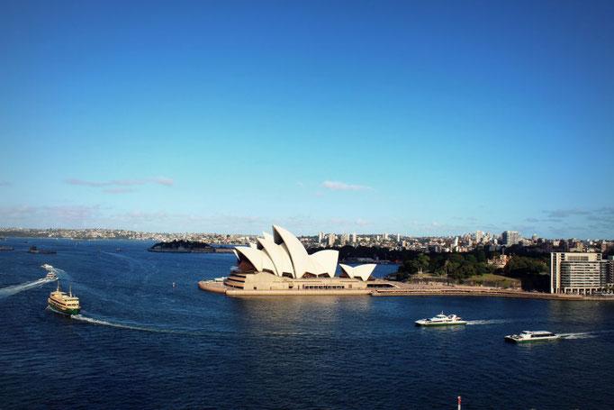 Blick auf das Opernhaus Sydney