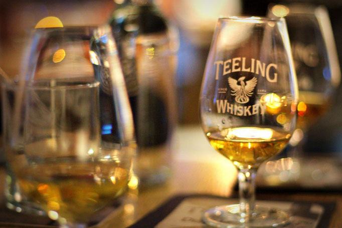 Whisky-Tasting in der Teeling Distillery