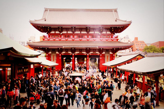 Sensō-ji Schrein in Asakusa