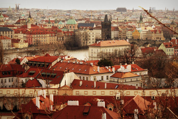 Prag von oben