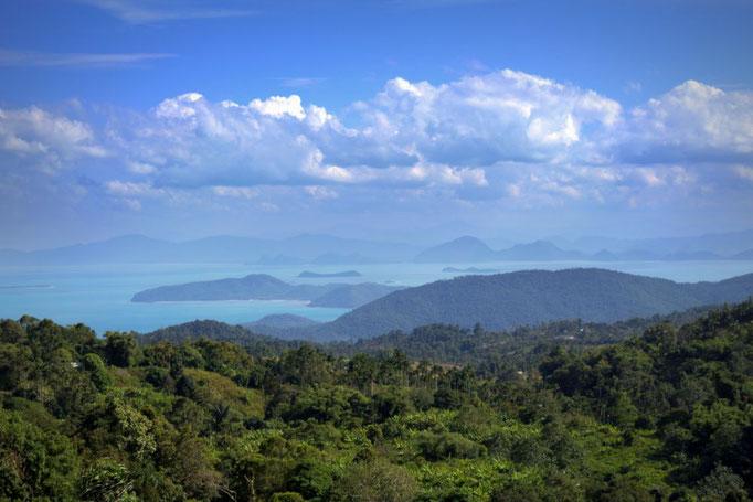 Überblick über Koh Samui, Thailand