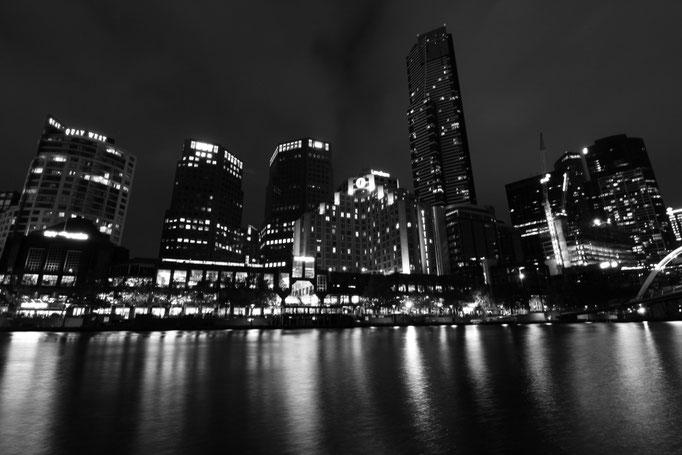 Blick über den Yarra River, Melbourne
