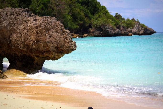 Der Padang Padang Strand